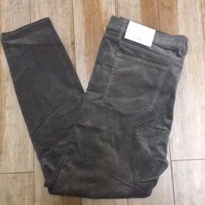 NWT-  modern skinny corduroy pants